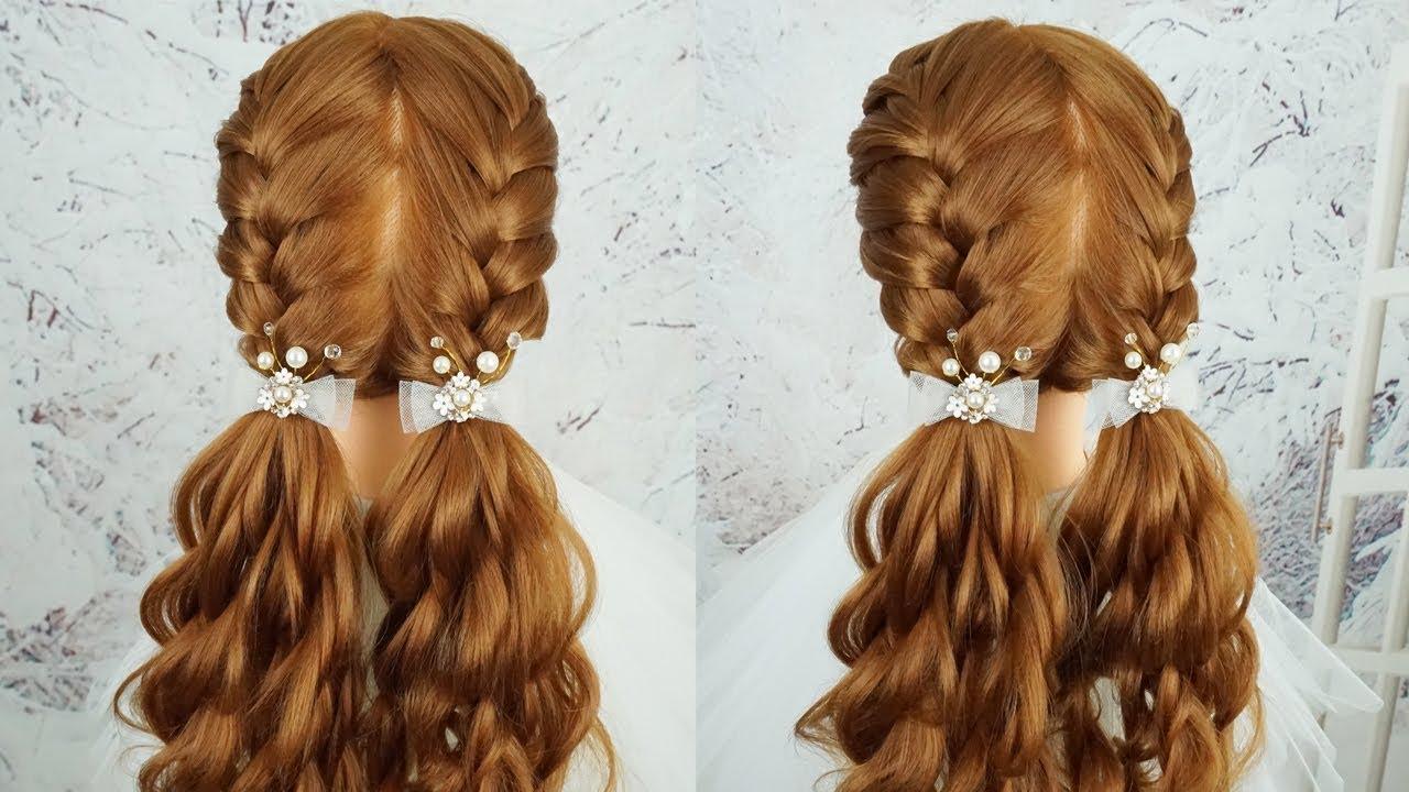 hairstyle girls school