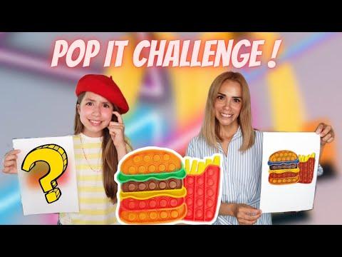 POP IT DESSIN CHALLENGE // KIARA PARIS 🌸