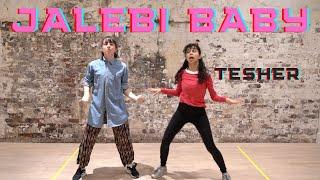 Jalebi Baby - Tesher  | Jalebi Baby Dance Challenge | Giggle Queens