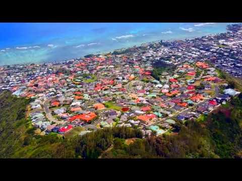 Flight Over Hawaii Loa Ridge
