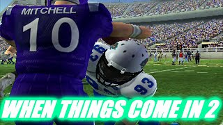 GOING BY TWOS - EASTERN ILLINOIS DYNASTY - NCAA FOOTBALL 06 EP79
