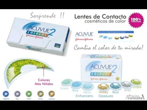 Lentes de Contacto Cosméticos Acuvue de Color - aPreciosdeRemate - YouTube 6a8ee97b62