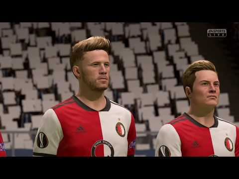 FEYENOORD ROTTERDAM Vs. FC PORTO | UEFA EUROPA LEAGUE 2019/20 | FULL MATCH & GAMEPLAY (FIFA 19)