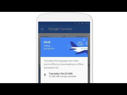 FBNC - Khám phá tính năng mới của Google Dịch trên thiết bị di động
