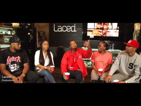 Off The Record at Laced. Feat. Slim400