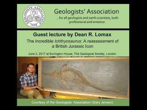 The Incredible Ichthyosaurus - Guest lecture by Dean Lomax