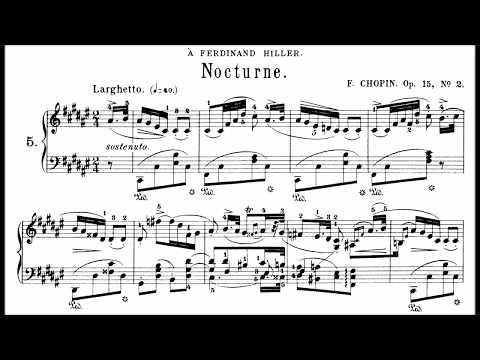 Chopin: Nocturne Op.15 No.2 in F# Major (Moravec)