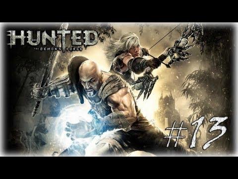 Смотреть прохождение игры [Coop] Hunted The Demon's Forge #13 - Мечем и молнией.
