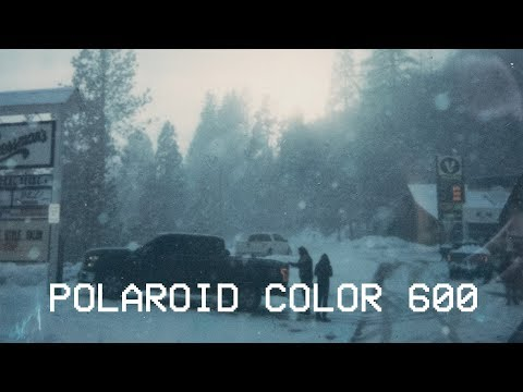 Polaroid 600 Color 600 Film // 2 Days 2 Adventures