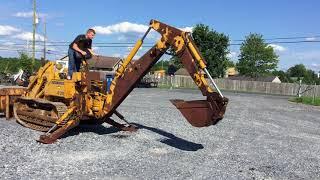 John Deere 350 Crawler Loader Backhoe!