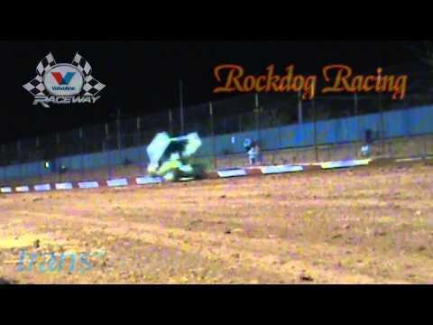 Toby Bellbowen Sprintcar Crash - Valvoline Raceway - Rockdog Racing Videos