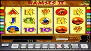 Видео гайд захватывающего игрового автомата ramses 2: характеристики и функционал