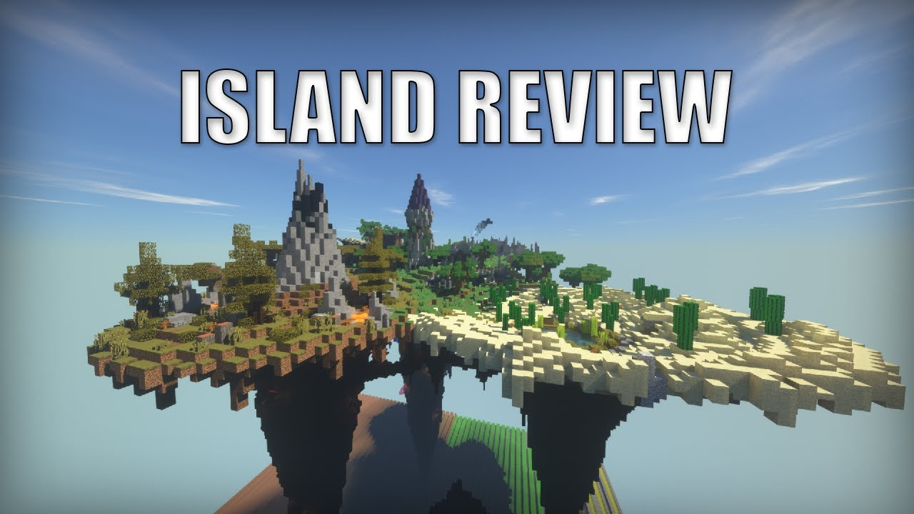 The BEST Islands in Hypixel Skyblock - Competition