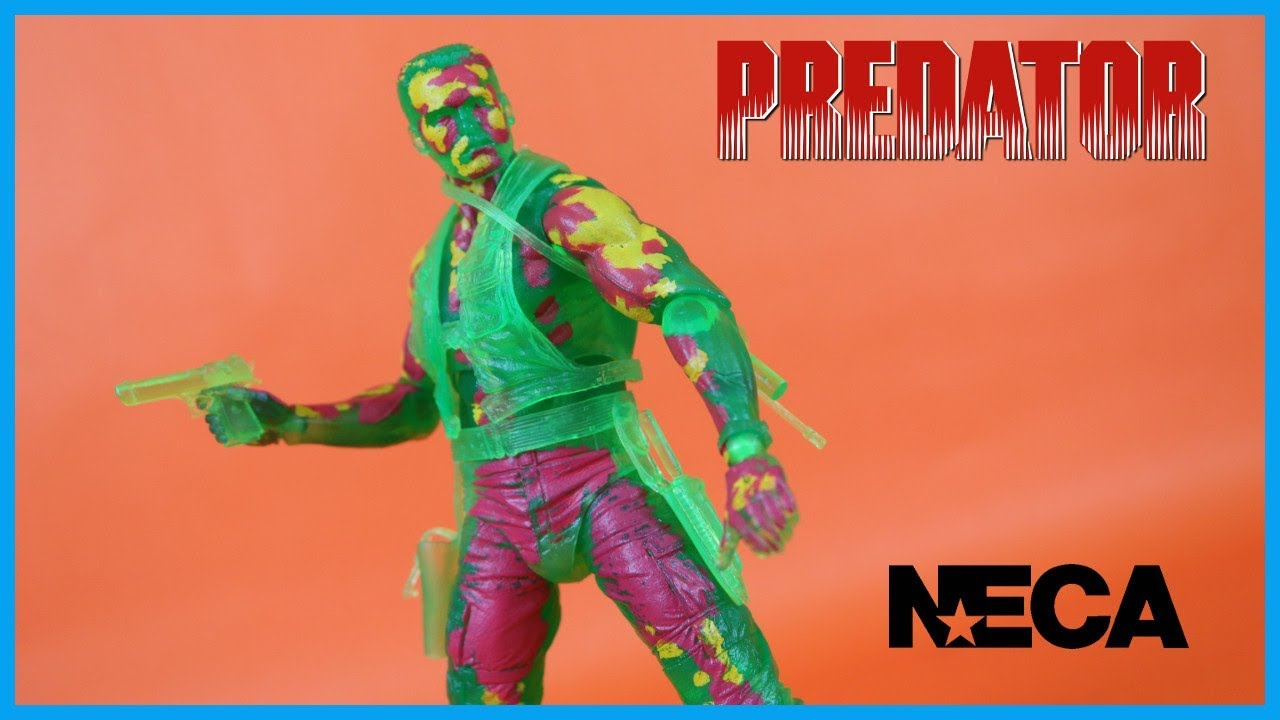 "NECA PREDATOR série 11 THERMAL VISION DUTCH 25th Anniversaire 7/"" Action Figure"