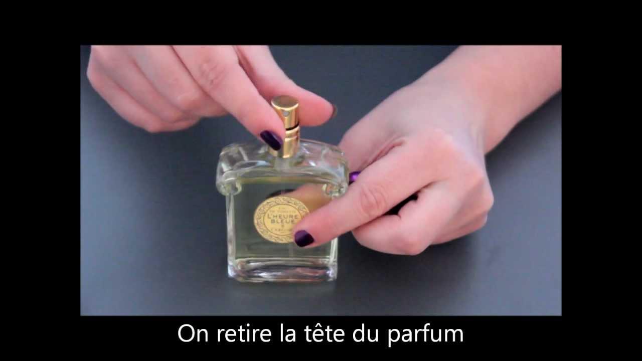 Vaporisateur De Parfum Travalo Youtube