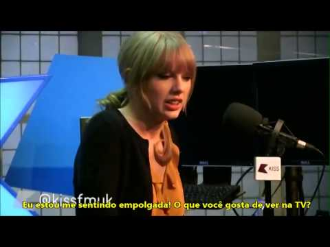 Taylor na rádio KissFM UK (LEGENDADO)  #Trend
