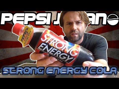 Pepsi Japan: Strong Energy Cola