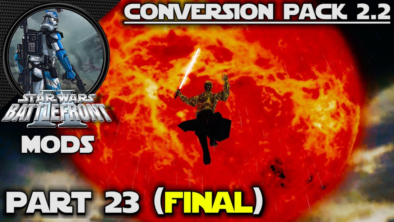 Saiyan's Playin': Battlefront 2 (MODS) | Conversion Pack 2.2 | Yavin 4: Arena (FINAL)