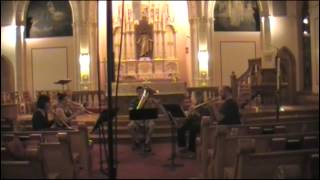 Alliance Brass Quintet - Praeludium in G minor, BuxWV 149 - Dieterich Buxtehude (opening)