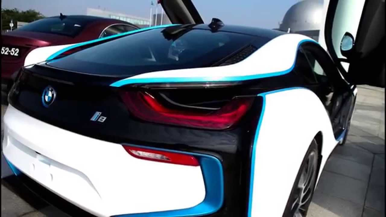 Chameleon Sprayfilm BMW I8 Spray Film For Vehicle Matt Metal White Blue