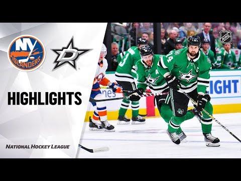 NHL Highlights   Islanders @ Stars 12/07/19