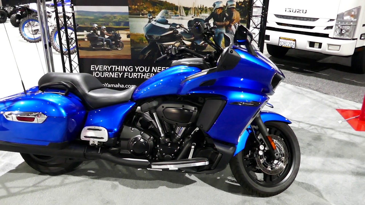 New 2019 Yamaha Star Eluder Cruiser Motorcycle - 2018 LA Auto Show
