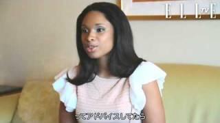 【ELLE TV JAPAN】Special Interview of Jennifer Hudson 2011