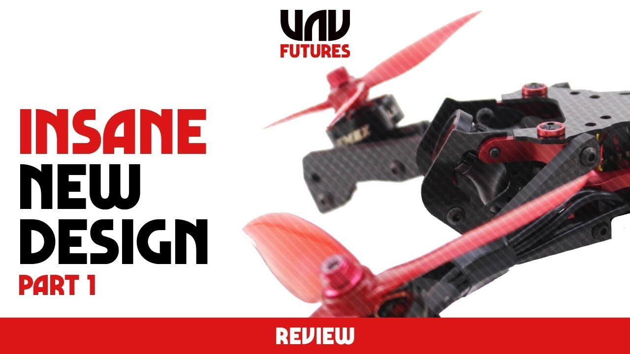 V TAIL PROPS? VERTICAL ARMS? TILTED MOTORS? WTF? INSANE DRONE DESIGN ...