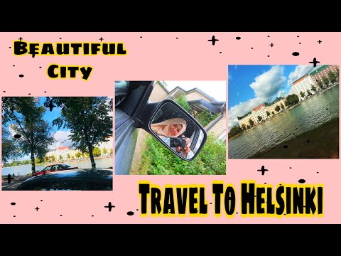 Let's Travel To Helsinki Centre | Beautiful City | Travel By Car | Travel vlog