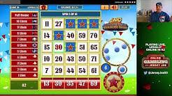 Slingo Carnival slots LIVE [Online Gambling with Jersey Joe # 48]
