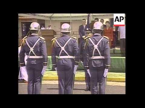 PANAMA: U-S MILITARY BASE HANDED OVER