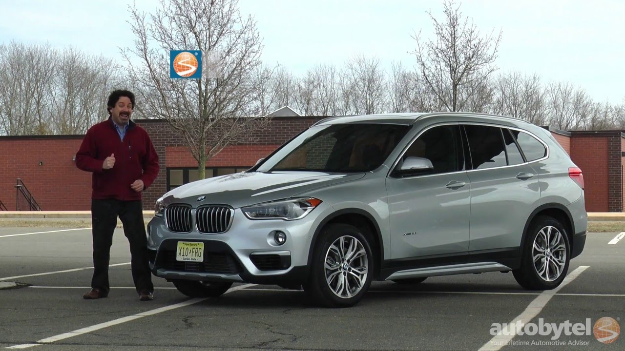 2016 Bmw X1 Xdrive28i Test Drive Video Review Youtube