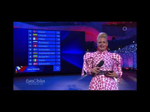 Eurovision Song Contest 2020 - German Final - Voting