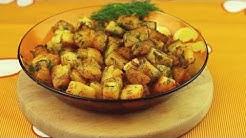 Картофи с масло и копър