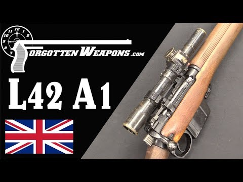 The Last Lee Enfield: the L42A1 Sniper – Forgotten Weapons