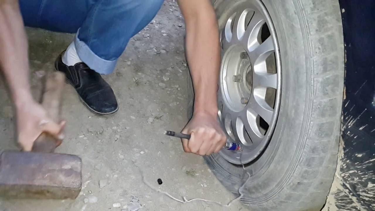 Сосок шины колеса