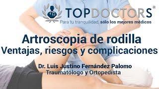 Rodilla incidencia de de una cirugía de TVD artroscópica después