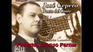 JOSÉ CEPERO, CANTA POR FANDANGOS, GUITARRA, LUIS MARAVILLA..
