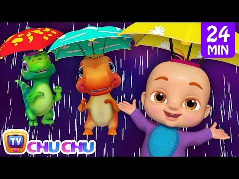 Rain Rain Go Away + More 3D Nursery Rhymes & Kids Songs - ChuChu TV