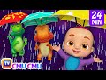 Rain Rain Go Away + More 3D Nursery Rhymes & Kids Songs - ChuChu TV