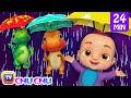 Rain Rain Go Away More 3D Nursery Rhymes Amp Kids Songs ChuChu TV mp3