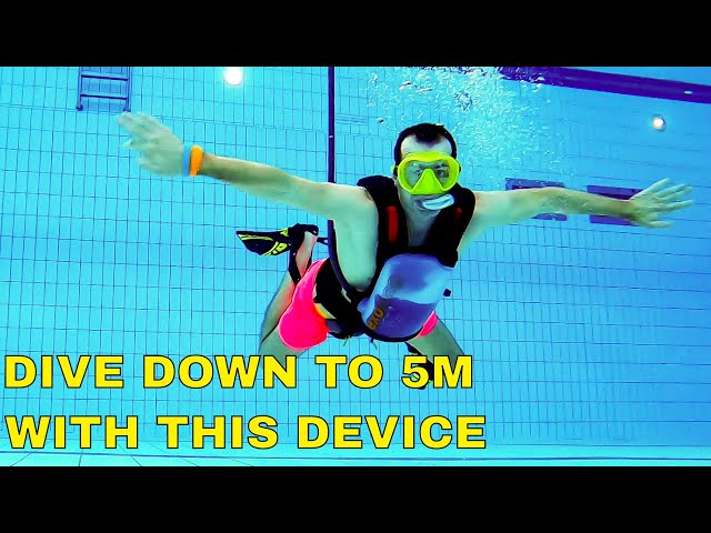 Breathe underwater with the Exolung