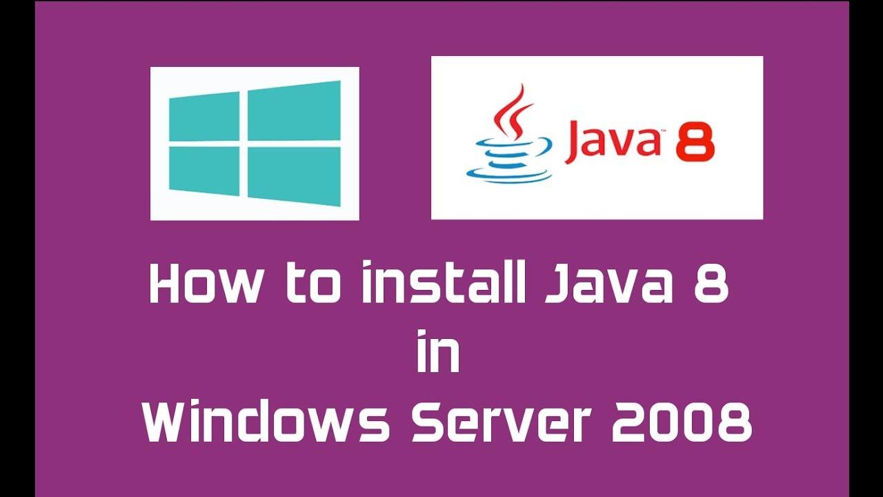 Java 8 (Oracle JDK 8) installation in Windows Server 2008 | Java SE 8  Update 144