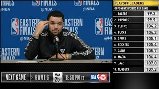 Fred VanVleet postgame reaction | Raptors vs Bucks Game 5 | 2019 NBA Playoffs