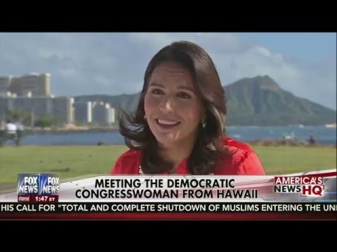 Fox News Channel Profiles Congresswoman Tulsi Gabbard
