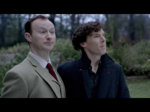 XMAS - Sherlock Holmes - Cumberbatch - Christmas Song - Frank Sinatra