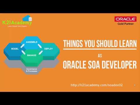 Things to learn as SOA Developer