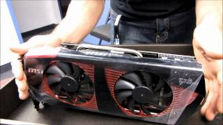 MSI NVIDIA GeForce GTX 480 Lightning Extreme Video Card Unboxing & First Look Linus Tech Tips