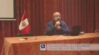 Fernando Garcés: Educación Superior: ¿Colonialidad o Interculturalidad?