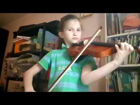 Колыбельная Умки на скрипке
